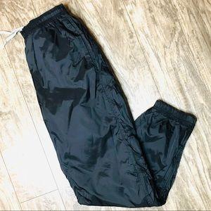 Nike Windbreaker Track Pants 90s White Tag Black L
